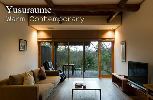 Yusuraume Warm Contemporary